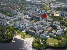 Härmälänranta - Alueen suunnitelma, kokonaisuus valmis 2025 - kuvat Skanska