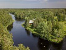 Vapaana virtaava Kiiminkijoki