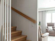 Erinomaiset portaat vievät yläkertaan