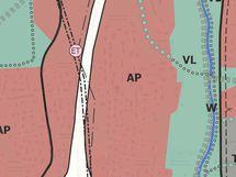 Sillitie 2a Yleiskaava 2020 kartalla AP