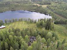 Ilmakuva, jossa Tärna järvi