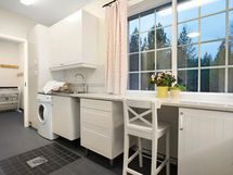 Kodinhoitohuone ja kuivaushuone