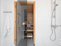 Kylpyhuone / sauna