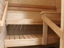 Myös sauna on juuri remontoitu