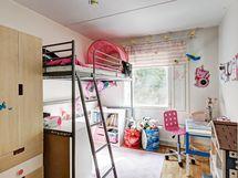 Makuuhuone erittäin tilava