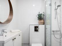 Päämakuuhuoneen wc/kylpyhuone