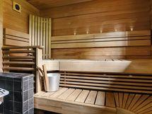 Tilava sauna ja puukiuas