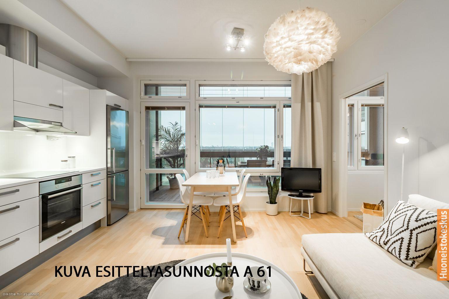 39,5 m² Elosalamantie 1 A 43, 02100 Espoo Kerrostalo Kaksio myynnissä - Oikotie 8622613