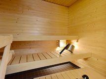 Asunnossa oma sauna