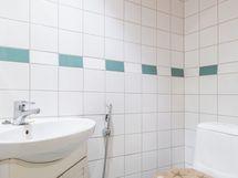 Erillinen WC kylpyhuoneessa