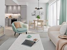 Visualisointi kodista lisähintaisella Villa-keittiötyylillä