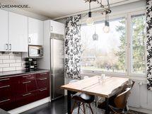 Tyylikäs ja moderni keittiö