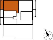 Asunnon B71 sijainti kerroksessa