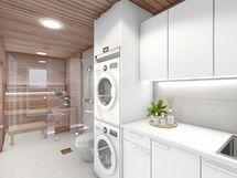 Pesuhuone valkoinen