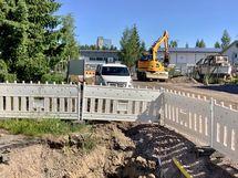 Kehittäjänkadulla on menossa iso remontti, pian valmis uusi katu