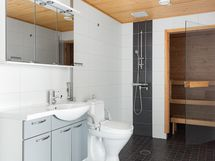 Kylpyhuone / wc ja sauna