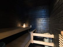 Sauna on remontoitu