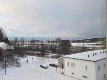 Asunnosta näkymä Jyväsjärvelle