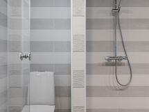 Kylpyhuoneessa talon kolmas wc