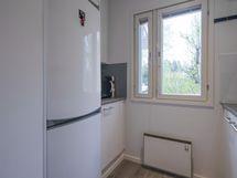 Myös seinä-, lattia ja kattopinnat ovat saaneet uuden ilmeen.