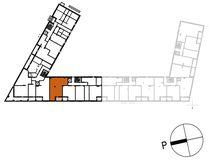 Asunnon A9 sijainti kerroksessa