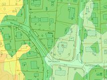 Sillitie 2a kaupunkikartalla tiemelu 2016 klo 7-22