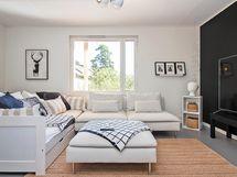 Olohuone tai miksi ei makuuhuone, tila mitä voit muokata tarpeesi mukaan