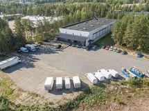tuotantotila puulaakintie 8 palokangas jyvaskyla Sagax ilmakuva2
