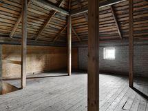 Vanhan viljavaraston yläkerta