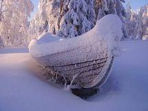 Talvista tunnelmaa, omistajan kuva