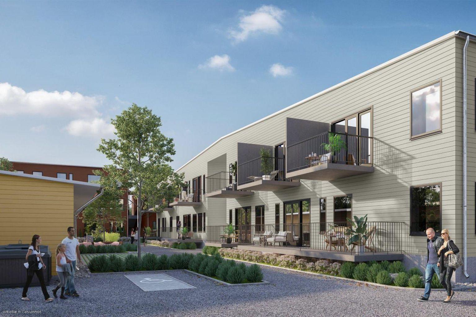 27 m² Amiraalistonkatu 11 B27, 20100 Turku Kerrostalo Yksiö myynnissä - Oikotie 14854653
