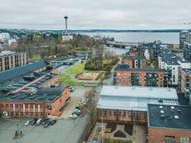 Näsijärvi ja Tammerkoski lähellä