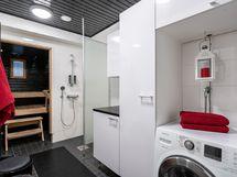 Kylpyhuone ja kodinhoitotila