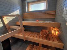 sauna asunnossa 8