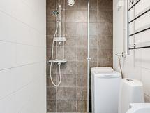 Pesuhuoneessa laadukkaat materiaalit