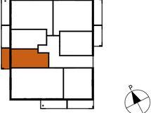 Asunnon A6 sijainti kerroksessa