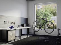 Pyöränhuoltopiste / monitoimihuone