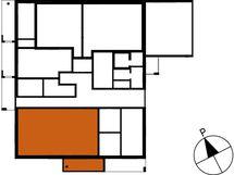 Asunnon B40 sijainti kerroksessa