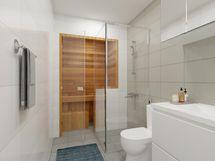 Virtuaalikalustus kylpyhuoneessa