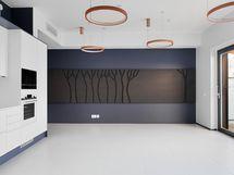 Monikäyttöinen saunaosaston tila käyttävissä saunavuorolla