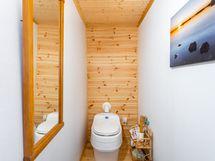 kuivakäymälä ylämökin sisätiloissa