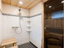 Saunaosasto uusittu vuonna 2010