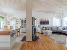 Olohuone keittiö yhteensä 42,6 m2