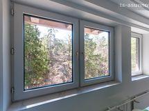 Näkymä keittiön ikkunoista