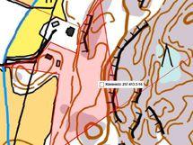 Korkeuserot kartalla