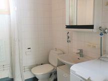 Kylpyhuonetta, wc ja pesukonevalmius