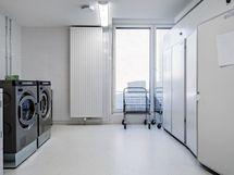 Taloyhtiön pesutupa samassa kerroksessa
