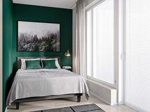 Taloyhtiön vierashuoneessa majoitat vieraasi turvallisesti ja huolettomasti.