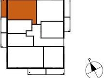 Asunnon B57 sijainti kerroksessa