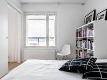 Makuuhuone, omaa rauhaa saat sulkemalla liukuoven